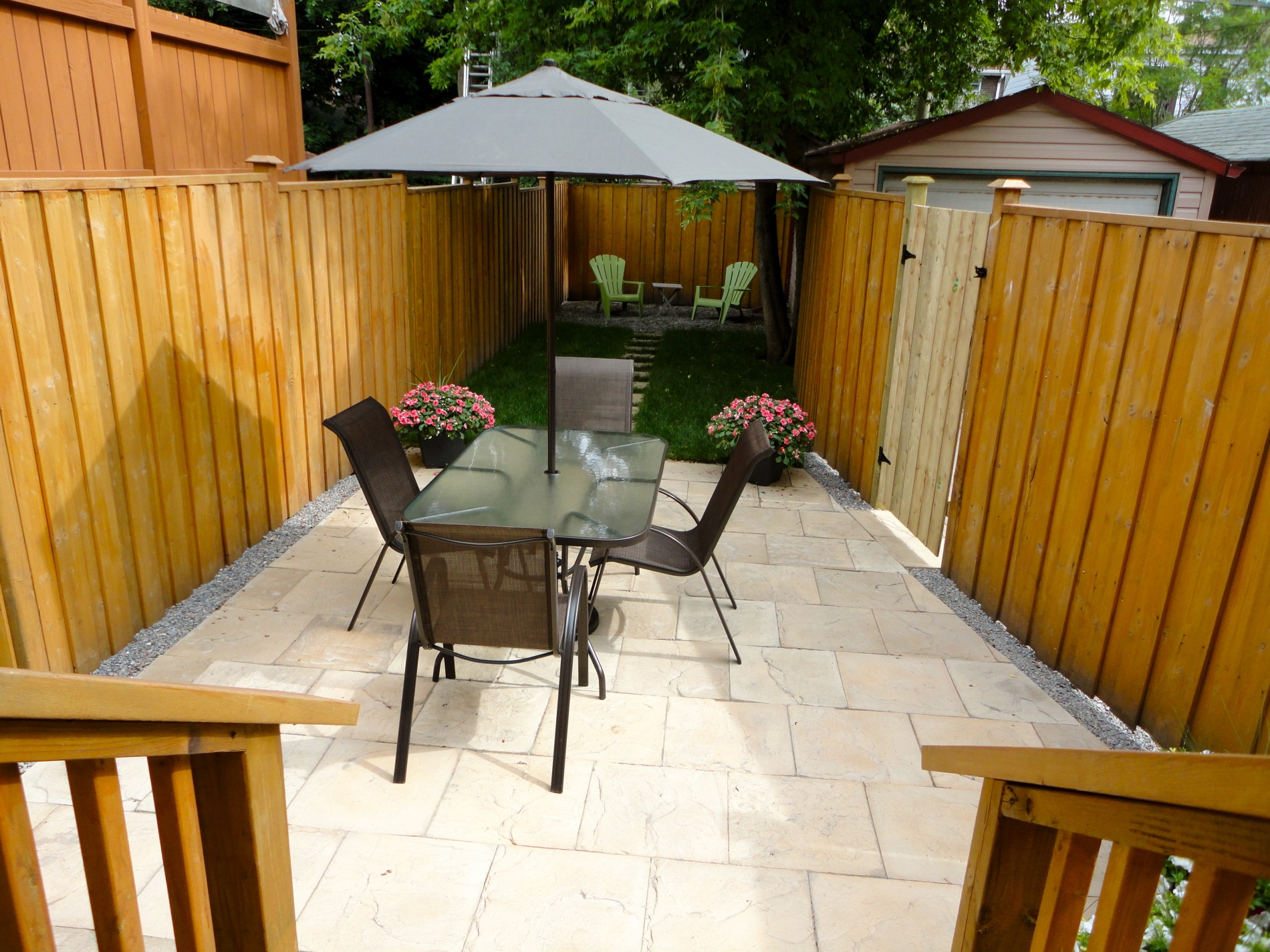 Danforth Backyard Landscaping & Patio - Featured Image