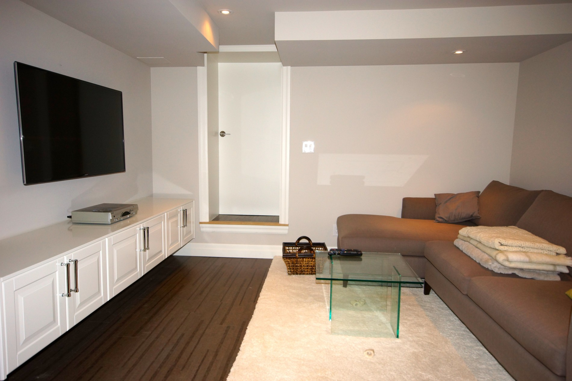 Little Italy Contemporary Basement - Featured Image