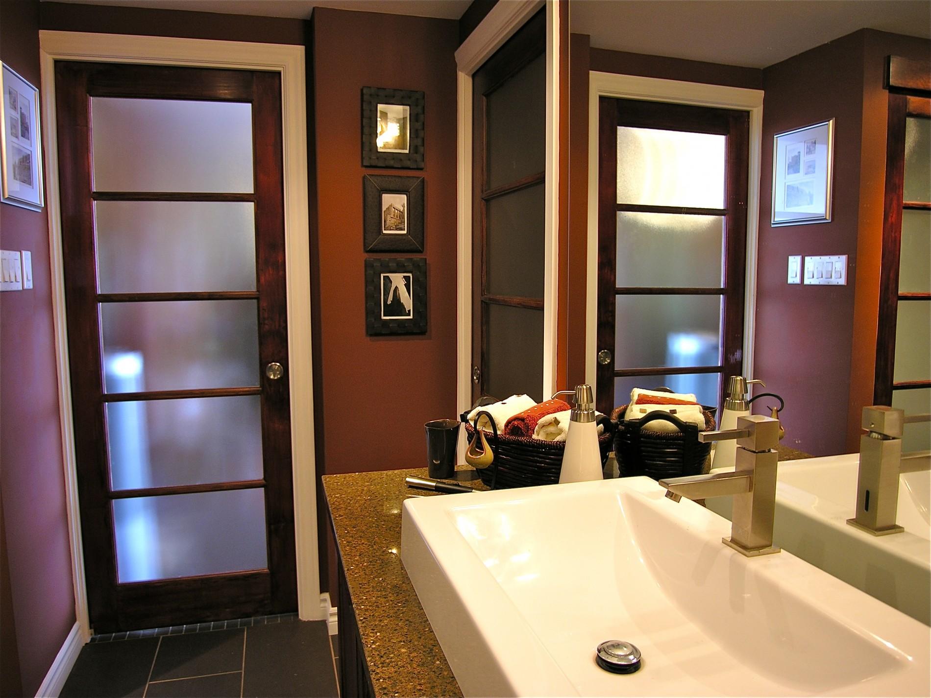 Carlton St. E. – Toronto Condo Asian Fusion Bathroom - Featured Image