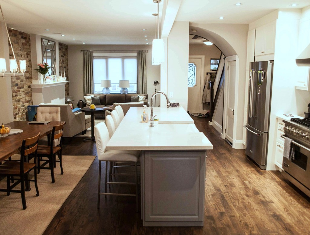 Toronto Kitchen & Main Floor Renovation In Little Italy – Ashton ...