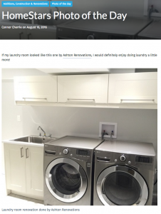 Homestars Photo of Day Ashton Laundry Room