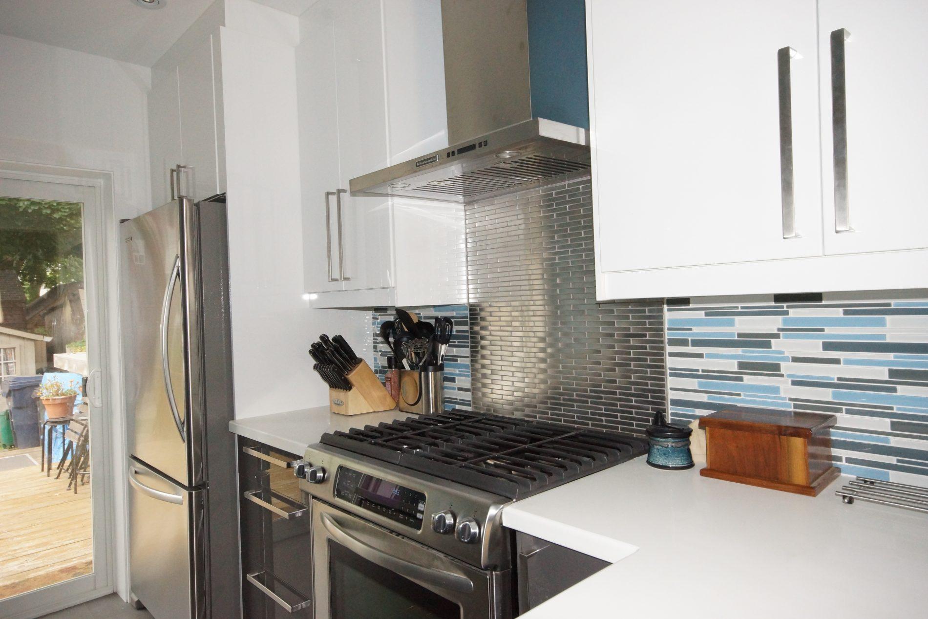 The Beaches Toronto Modern Kitchen Renovation Ashton