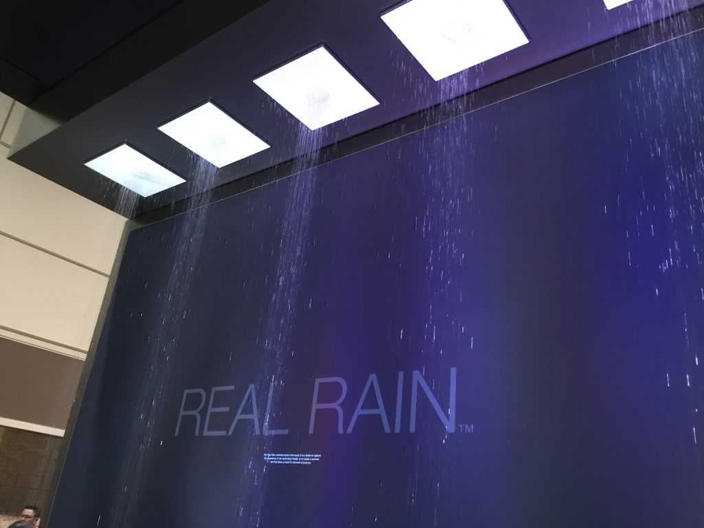 The Ultimate Shower Rainhead Experience From Kohler At KBIS 2017 ...