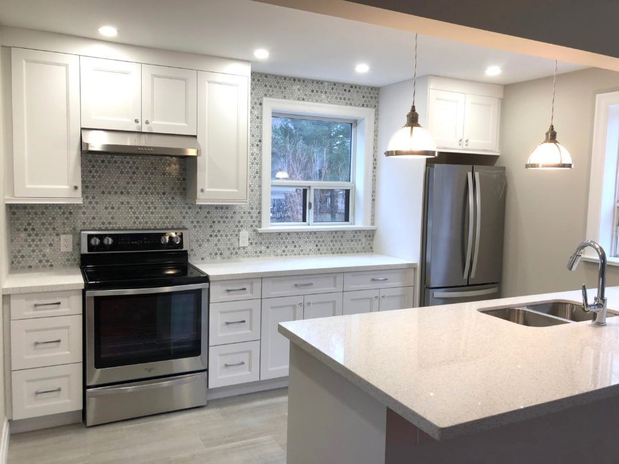 Open Concept Kitchen Design On The Toronto Danforth Ashton Renovations