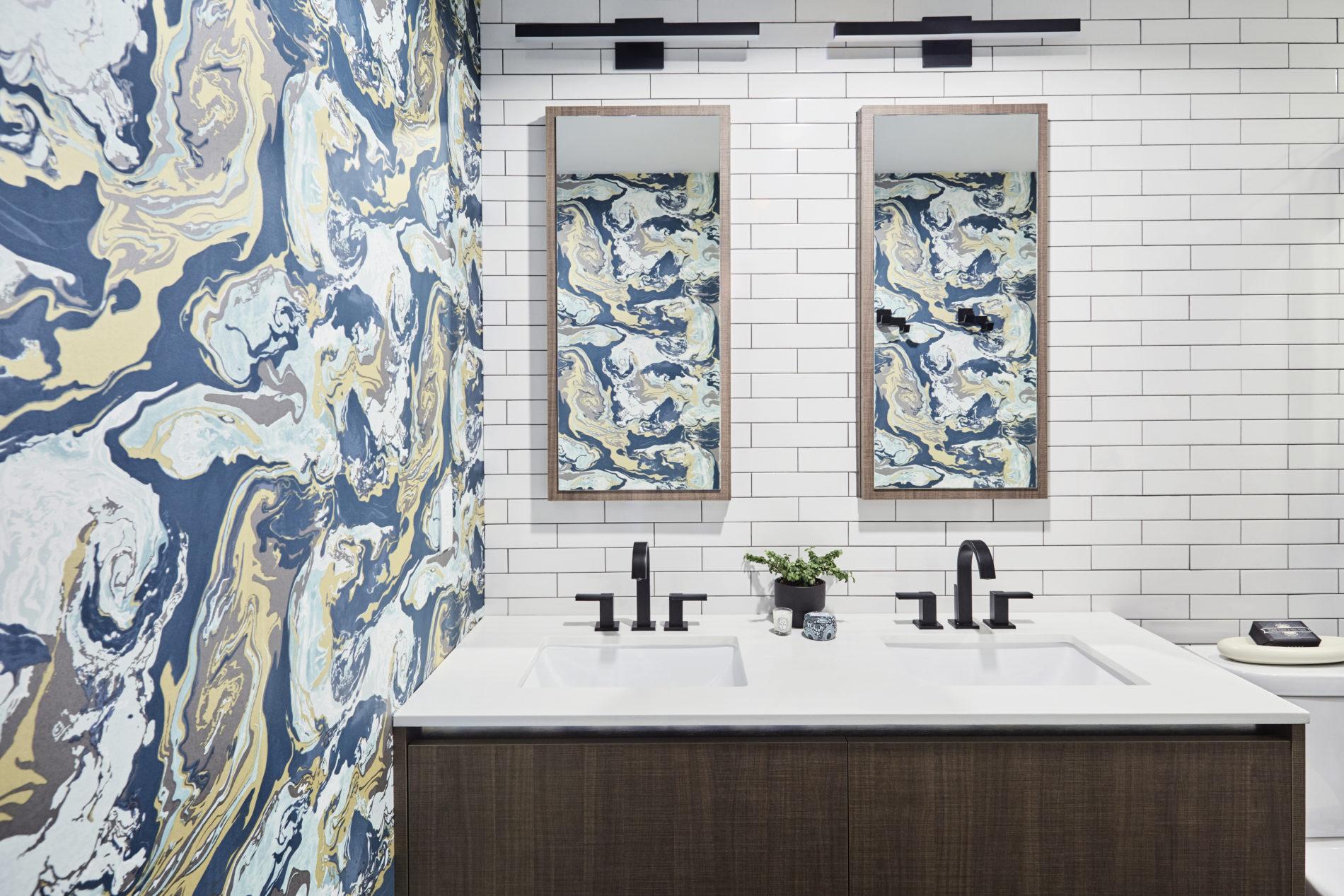 Downtown Toronto Condo Ensuite Bathroom - Featured Image