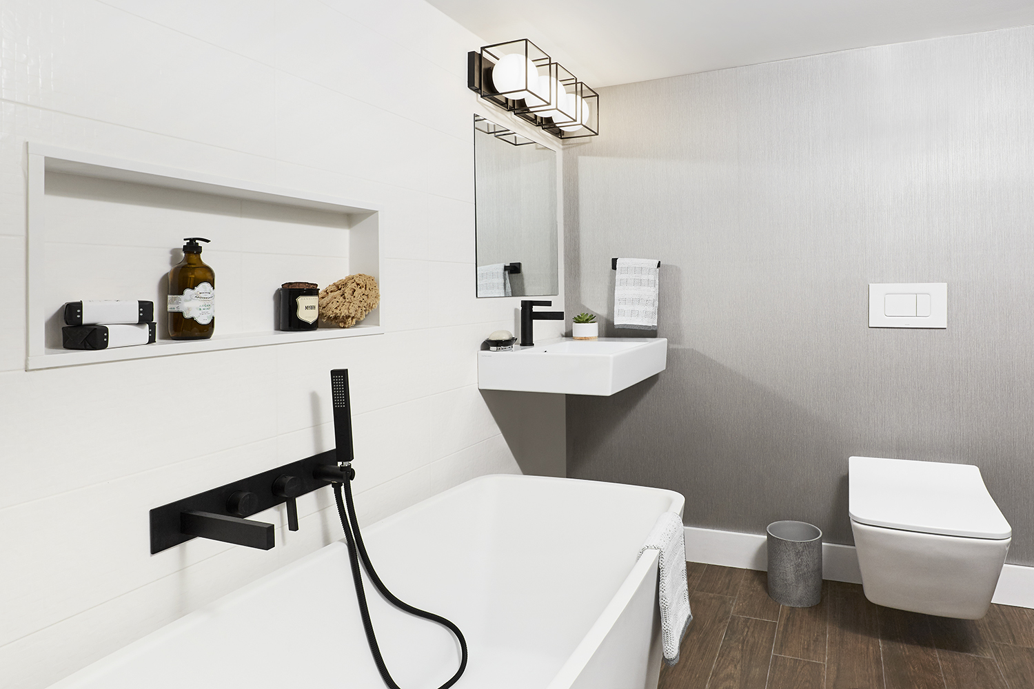 Imperial Ave. – Chaplin Estates Modern Basement Bathroom - Featured Image