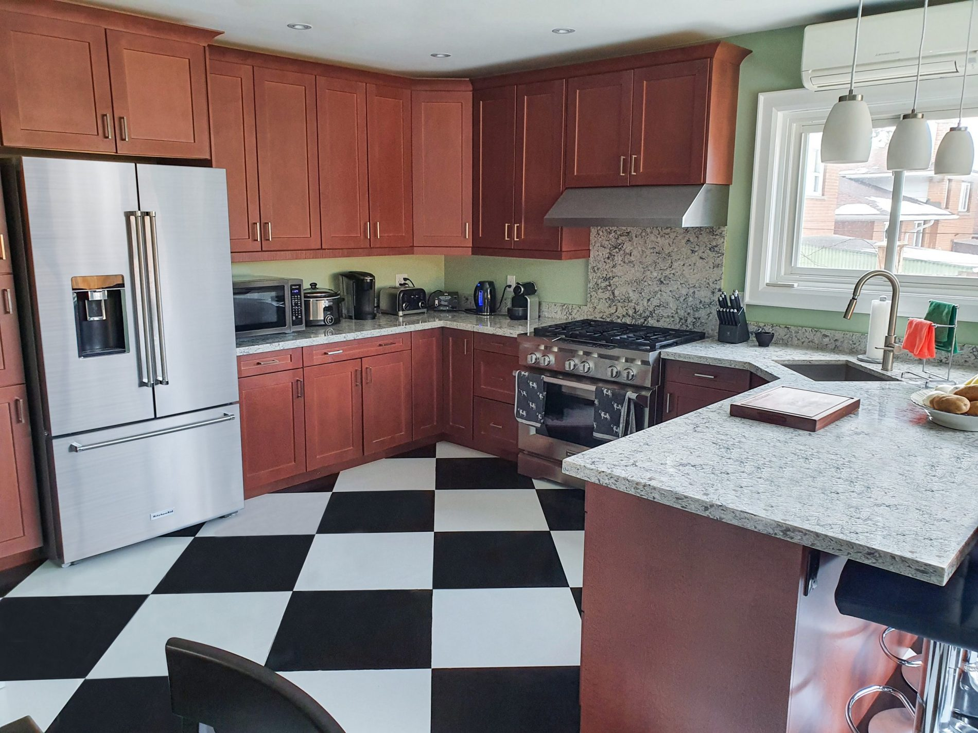 Woodthorpe Rd. – Victoria Park Village Toronto Kitchen Renovation - Featured Image