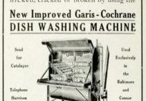 Garis Cochrane Dishwasher 1909